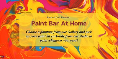 PAINT BAR AT HOME ~ Pick up your painting kit from B & C studio on Feb. 3rd