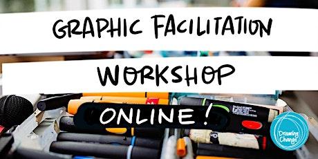 Oct 2021 Graphic  Facilitation Training - Online! tix on sale 9am PST tickets