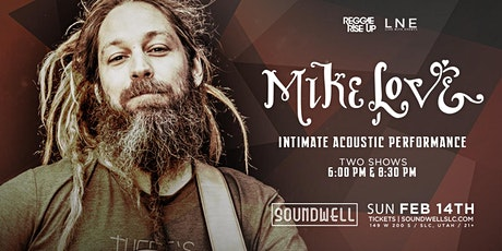 Mike Love - Solo Acoustic [Sunday Show - 9:00PM] tickets