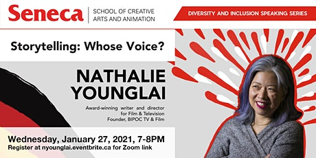 Storytelling: Whose Voice? Seneca Diversity and Inclusion Speaking Series tickets