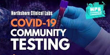 Free Community Covid Testing tickets