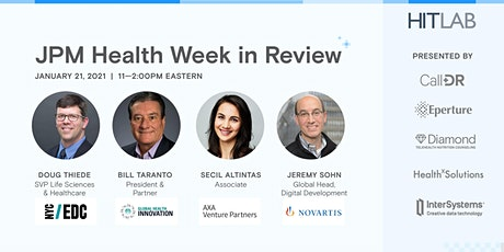 HITLAB's Review of the 39th J.P. Morgan Healthcare Conference tickets