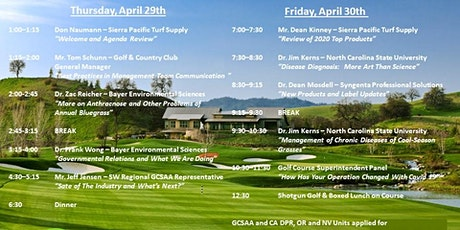 Sierra Pacific Turf Supply 2021 Spring Symposium tickets
