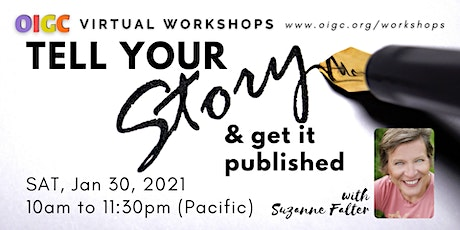 1/30: Tell Your Story & Get It Published tickets