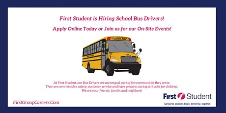 Join First Student DeSoto for Walk-In Interviews! tickets