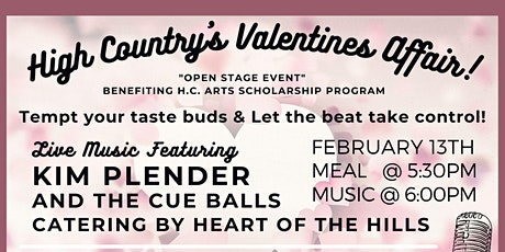 HIGH COUNTRY'S VALENTINES AFFAIR tickets