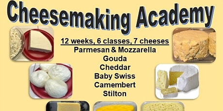 Cheesemaking Academy tickets
