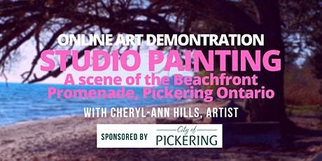 Learn to Paint - A Beach Painting Demonstration in the Studio tickets