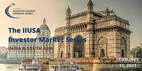 IIUSA Investor Market Webinar Series: India & South Asia tickets