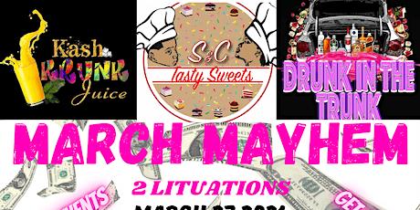 March Mayhem tickets