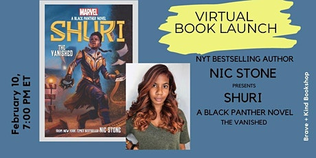 Nic Stone presents SHURI: A BLACK PANTHER NOVEL, THE VANISHED tickets