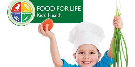 Food for Life: Kids' Health, 8 weeks, Wednesdays Jan 20 - Mar 10, 2021 tickets