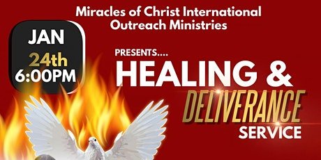 Healing & Deliverance Service tickets