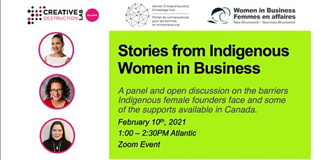 Stories from Indigenous Women in Business tickets