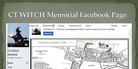 Tony Griego of the CT WITCH Memorial Facebook Page tickets