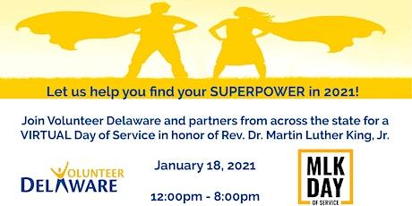 Volunteer Delaware Virtual MLK Day of Service tickets
