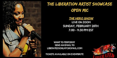 THE LIBERATION ARTIST SHOWCASE OPEN MIC tickets