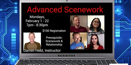 Advanced Improv Scenework tickets