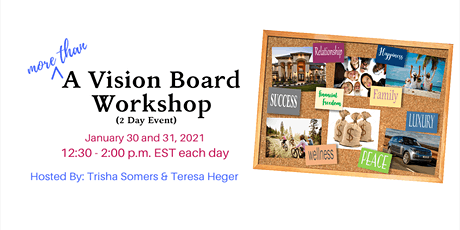 (more than) A Vision Board Workshop tickets