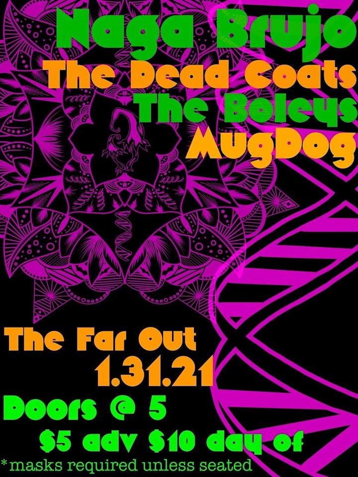 Naga Brujo w/ The Deadcoats and MugDog image