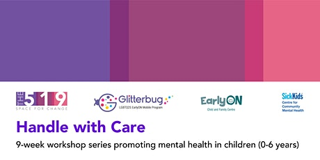Handle With Care: Workshops Promoting Children's Mental Health tickets