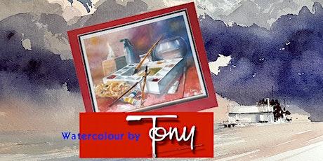 Watercolour with Tony Bramwell tickets