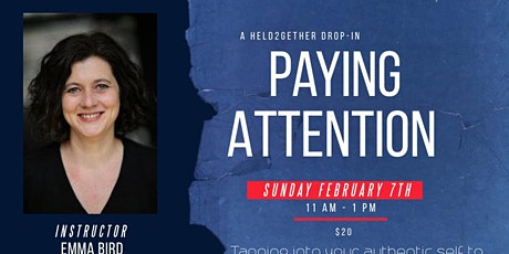 Paying Attention Improv Comedy Drop-In tickets