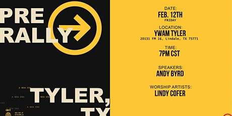 THE SEND - Pre Rally at YWAM Tyler tickets