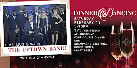 Valentine Dinner & Dancing tickets