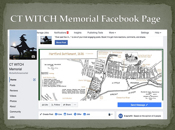 Beth Caruso, author of historical novels about women in the CT Witch Trials image