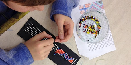 Drop in Beadweaving Workshop for All Ages! tickets