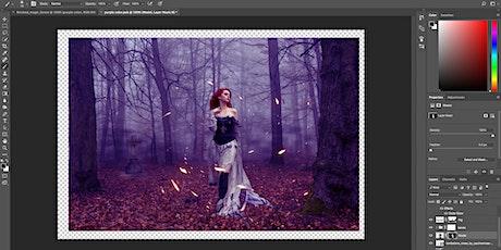 Einführung und Tricks mit Photoshop - Online Workshop tickets