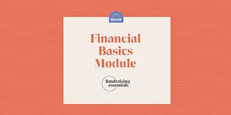 Beam Fundraising Essentials: Financial Basics tickets