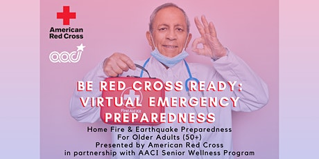 Be Red Cross Ready: Virtual Emergency Preparedness for Older Adults Tickets