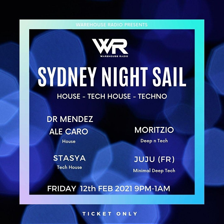 SYDNEY NIGHT SAIL // WAREHOUSE RADIO // WR005 image