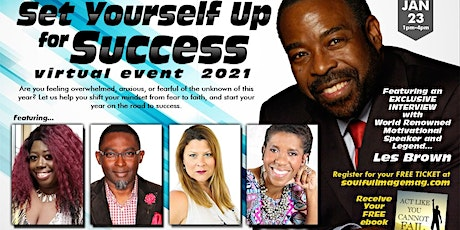 Set Yourself Up For Success 2021 tickets