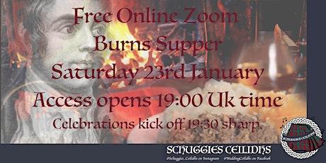 ❤️ Free Online (Zoom) Burns Supper tickets