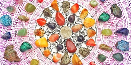 New Beginning Crystal Grid with Intuitive Reading Workshop tickets