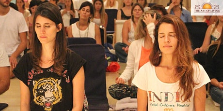 Breathwork & Meditation Workshop  for Stress-free Living tickets