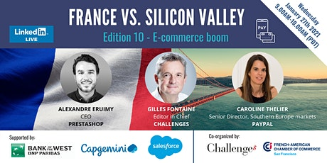 France Vs. Silicon Valley: E-commerce boom tickets