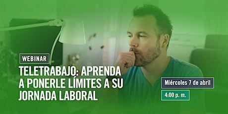 Teletrabajo: aprenda a ponerle límites a su jornada laboral entradas