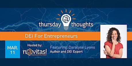 DEI For Entrepreneurs tickets