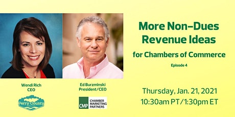 [WEBINAR] Non-Dues Revenue Ideas for Chambers of Commerce tickets