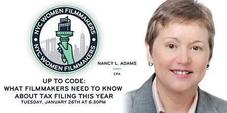 NYCWF Webinar: What Filmmakers Need To Know About Tax Filing This Year tickets