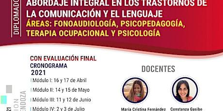 Diplomado en: Abordaje Integral en los Trastornos de la Comunica-lenguaje tickets