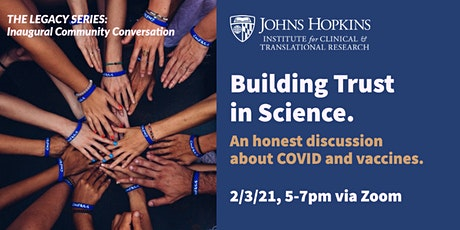 The Legacy Series: Building Trust in Science tickets