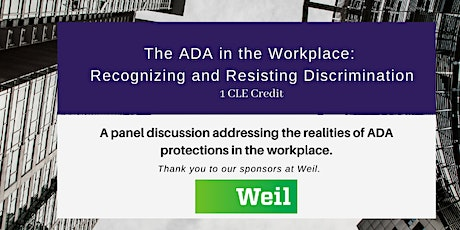 The ADA in the Workplace: Recognizing and Resisting Discrimination tickets