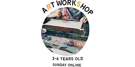 Online Art Club 3-6 years old tickets