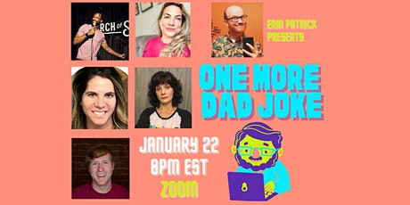 One More Dad Joke-Virtual Comedy Show (January) tickets