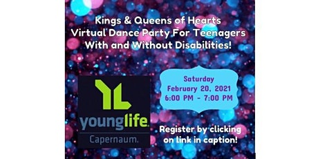 Kings & Queens of Hearts Virtual Dance Party! tickets